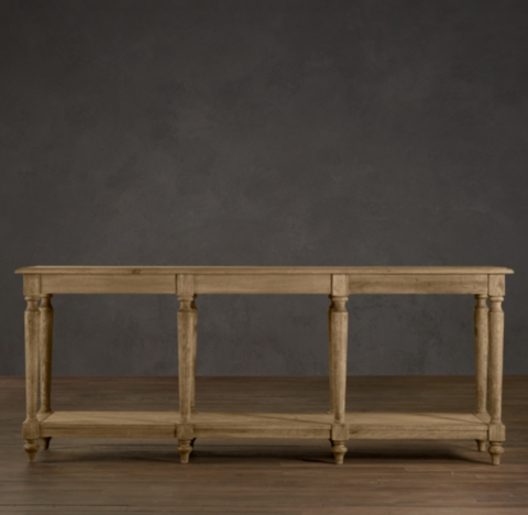 Furniture dining room furniture table console dining tables - Restoration hardware entry table ...