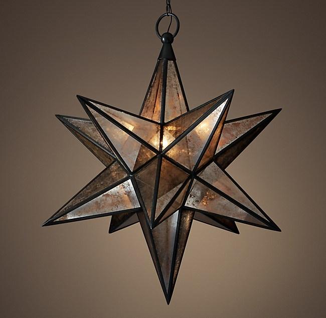 Moravian Star Pendant
