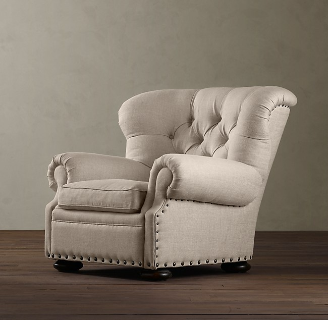 Churchill Upholstered Reading Recliner