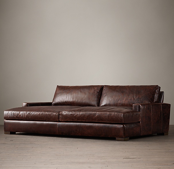 Maxwell Leather Daybed