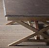 Bluestone X Base Coffee Table
