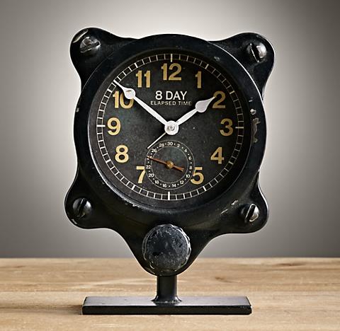 Clocks Restoration Hardware