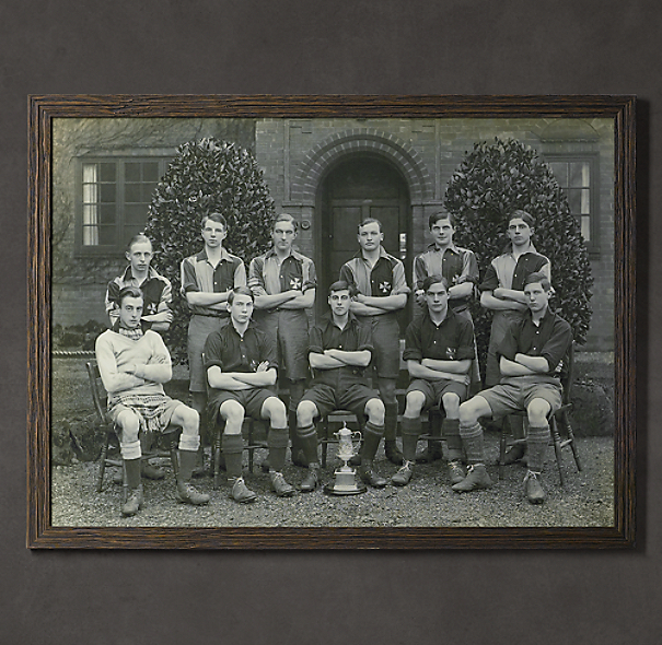 Vintage Sports Team Portrait, Team Trophy #1