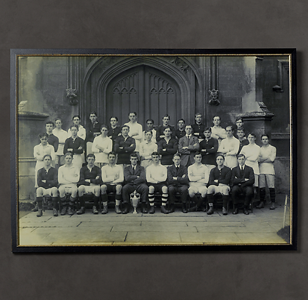 Vintage Sports Team Portrait, Team Trophy #2, Cheltenham College