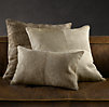 Brazilian Cowhide Pillow Covers - Sand