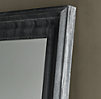 Baroque Weathered Zinc Mirror