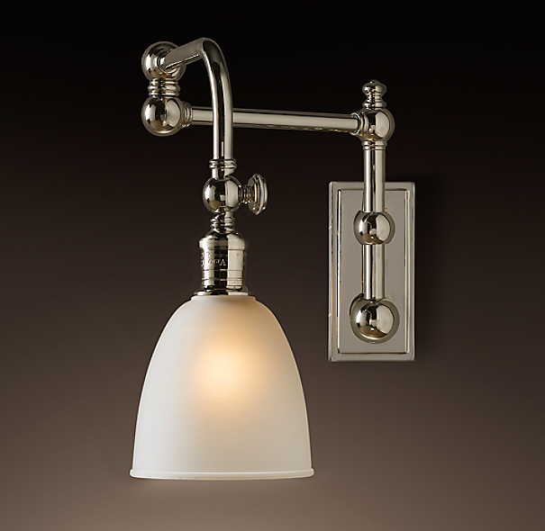 Pimlico Swing-Arm Sconce