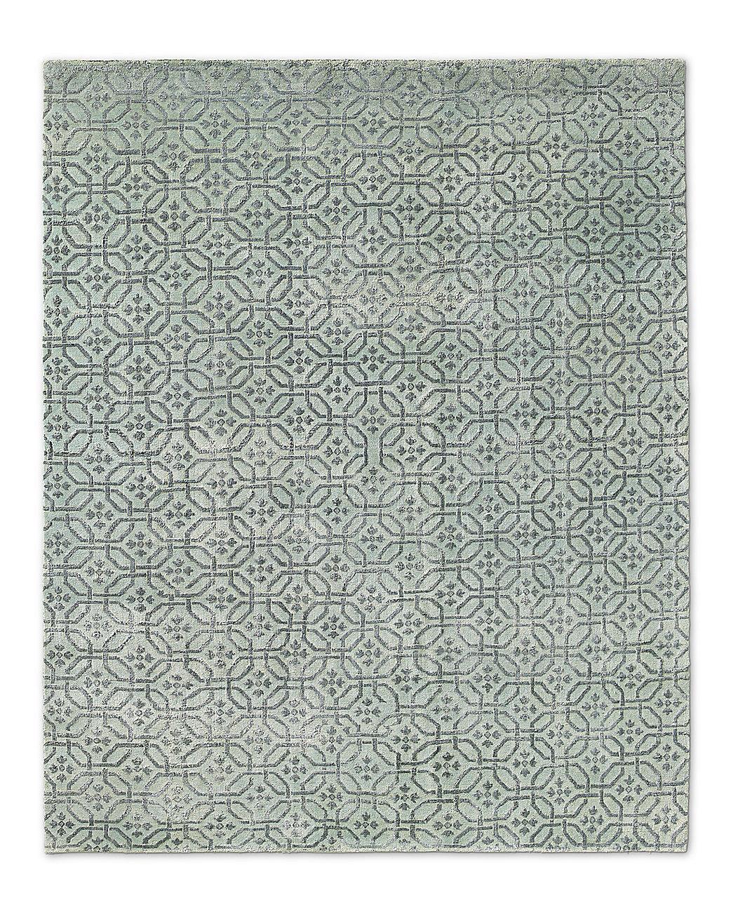 Sera rug sage silver for Restoration hardware rugs on sale