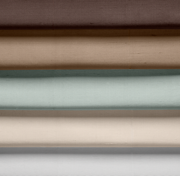 Thai Silk Solid Drapery Swatch