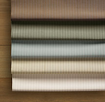 Thai Silk Tonal Stripe Drapery Swatch