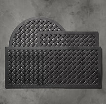 Lattice Rubber Doormat