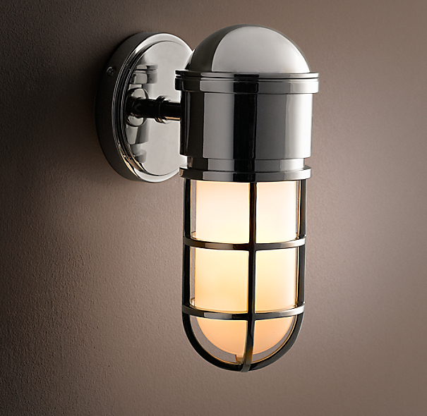 Maritime Caged Sconce
