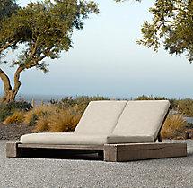 Aspen Double Chaise Cushion