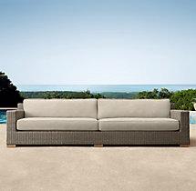 "99"" Biscayne Classic Sofa Cushions"