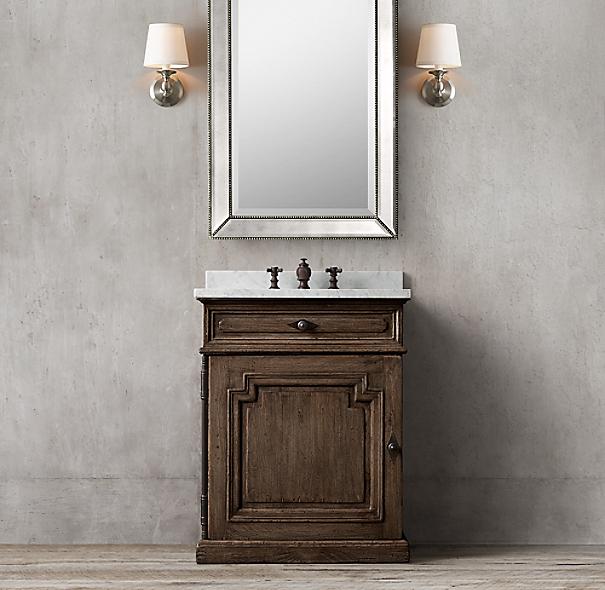 Montpellier Vanity Powder Room Sink