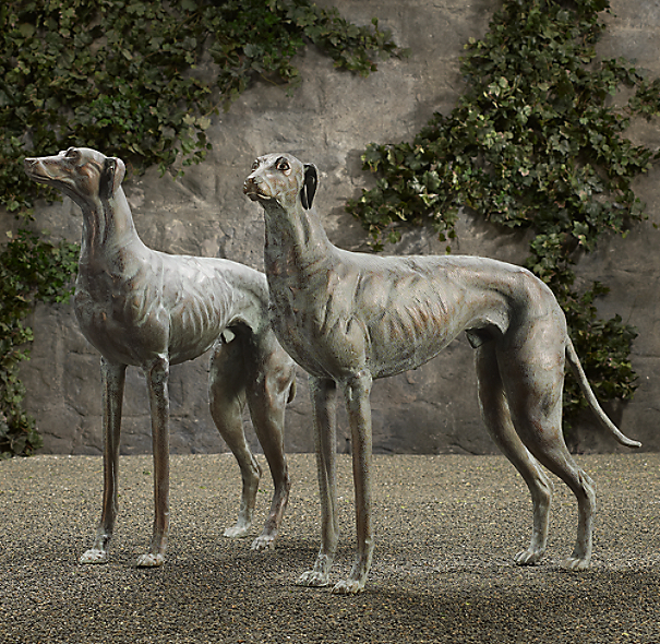 Sale alerts for  English Cast Metal Greyhounds - Covvet