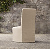 Belgian Slope Arm Outdoor Side Chair