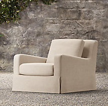 Belgian Slope Arm Outdoor Lounge Chair
