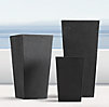 Weathered Cast Stone Tapered Slate Planters