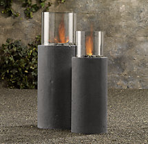 Laguna Concrete Ventless Fire Column
