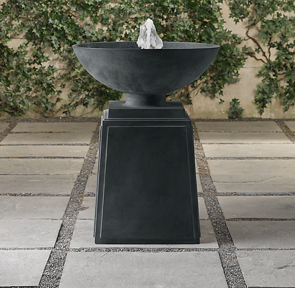 Footed Urn Fountain