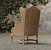 18th C. Teak Wingback Chair