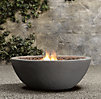 Lava Rock Propane Fire Bowl