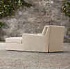 Belgian Slope Arm Outdoor Chaise