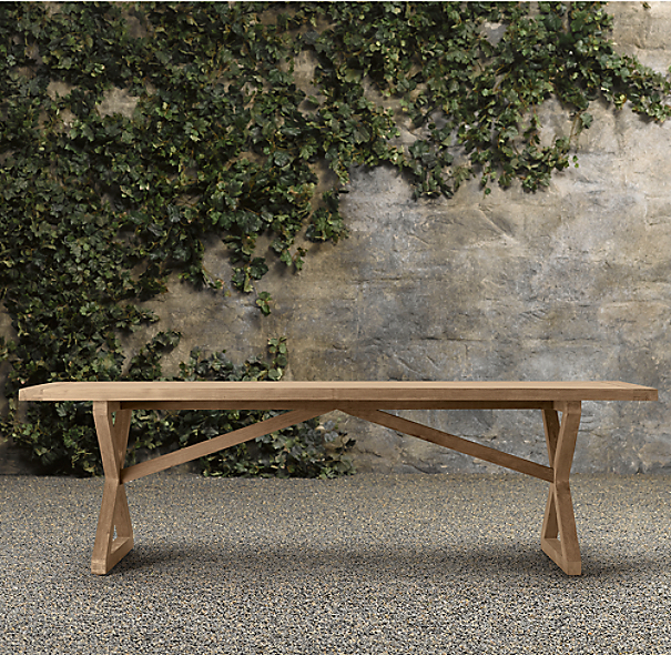 Antigua Rectangular Teak Dining Table