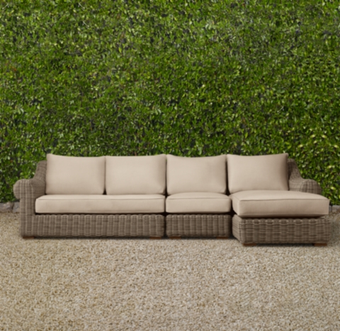 Furniture Outdoor Furniture Chaise Outdoor Sectional