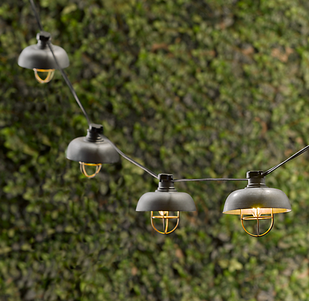 Cargo Pendant String Light