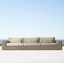 "141"" Majorca Luxe Sofa Cushion"