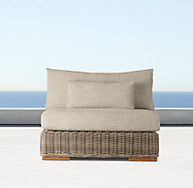 Majorca Armless Chair Cushion