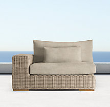 Majorca Luxe Left/Right-Arm Chair Cushion