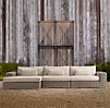 Majorca Luxe Left Arm Sofa Chaise Sectional Cushion