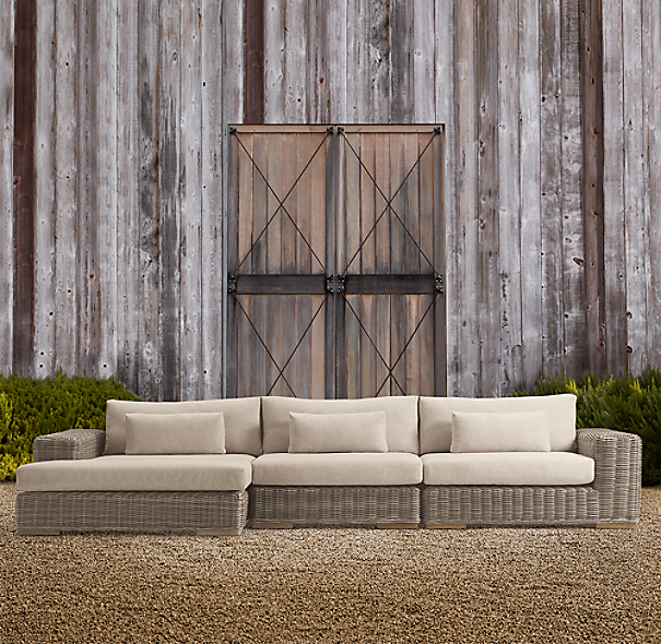 Majorca Luxe Left Arm Chaise Sectional