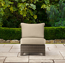 La Jolla Armless Chair Cushion