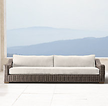 "76"" Provence Classic Sofa Cushion"