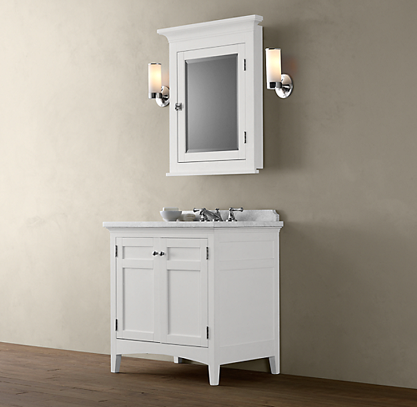 Cartwright Single Vanity Base