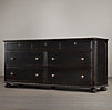 French Empire 7-Drawer Dresser
