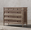 Louis XVI Treillage 5-Drawer Dresser