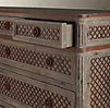 Louis XVI Treillage 12-Drawer Dresser
