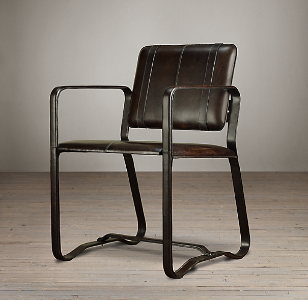 Buckle Chair Chocolate Brown