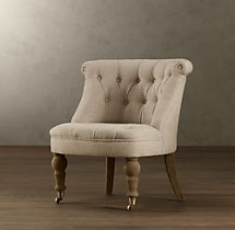 Sophie Tufted Slipper Chair