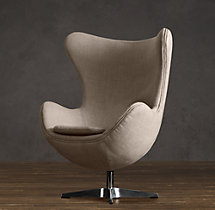 1950s Upholstered Copenhagen Chair