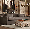 7' Belgian Slope Arm Slipcovered Sofa