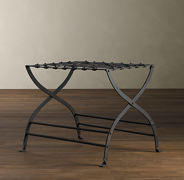 Avignon Metal Luggage Rack