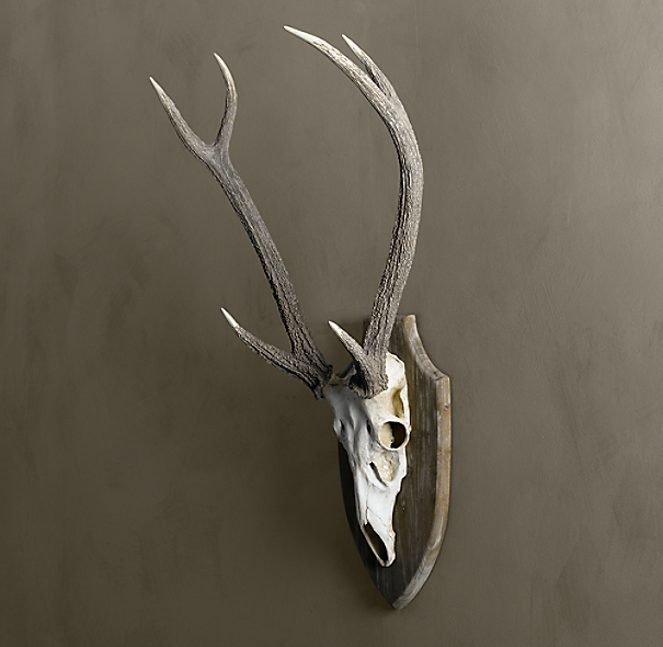 Deer Head in Cast Resin