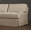 "84"" English Roll Arm Slipcovered Sleeper Sofa"