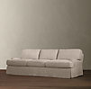 "72"" English Roll Arm Slipcovered Sofa"